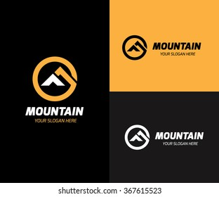 Mountain Logo Template.