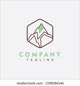 Mountain Logo Vector For Any businnes