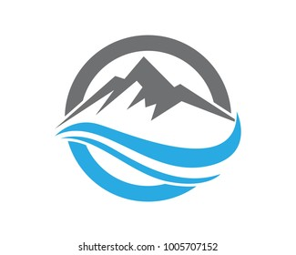 Mountain Logos and symbols template icons