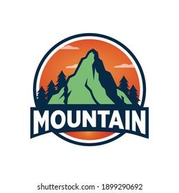 Mountain Outdoor Logo Design Templates