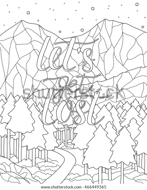 Mountains Coloring Pages - Best Coloring Pages For Kids | 620x479