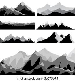 mountain set