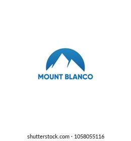 Mountain Ski Resort Logo