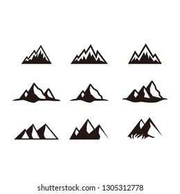 Mountain Vector Art For Logos