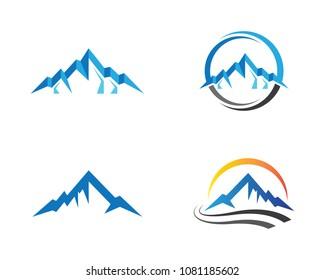 Mountain vector icon