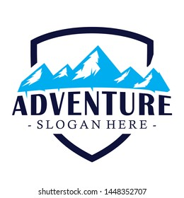 mountain,camp and adventure inspiration vector
