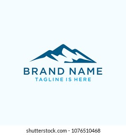 Mountains logo design vector template