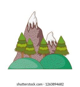 Mountains nature landscape
