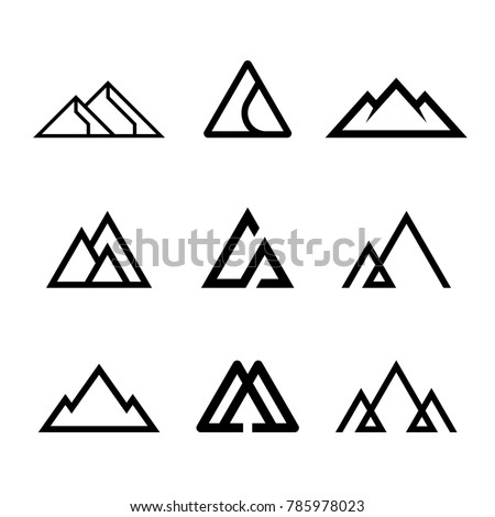 Mountains rocks and peaks
