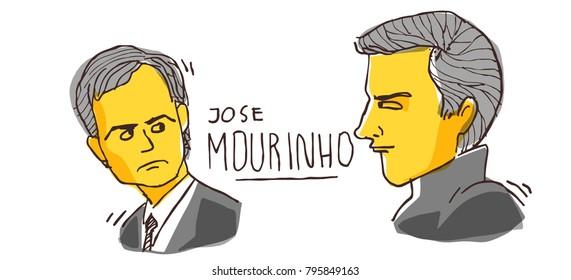 Mourinho the great coach. January 17 2018