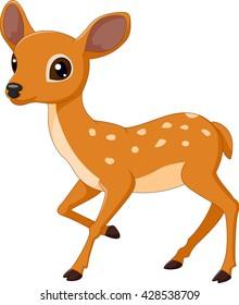 Mouse Deer cartoon illustration