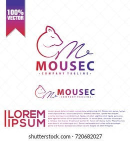Mouse Logo Vector
