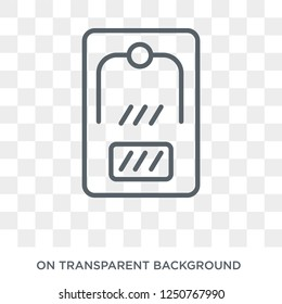 mousetrap icon. mousetrap design concept from Electronic devices collection. Simple element vector illustration on transparent background.