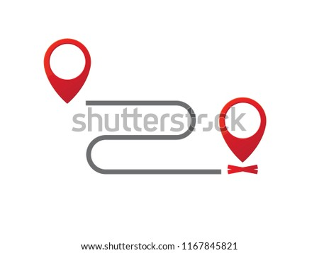 moved announcement icon stock vector royalty free 1167845821