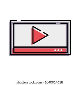 moved color web digital multimedia play video