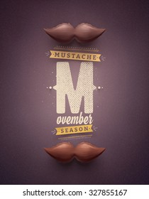 Movember, mustache season, eps 10