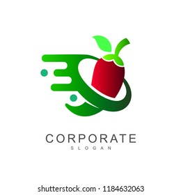 movement chili logo design