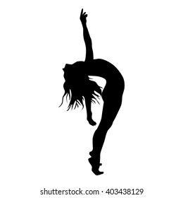 movement person shadow dance silhouette modern