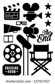 Movie and Film Icons, Symbols