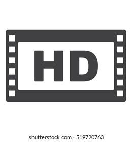 Movie Icon Vector flat design style