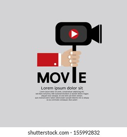 Movie Maker Vector Illustration EPS10