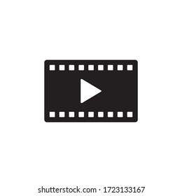 Movie, Play video icon vector design