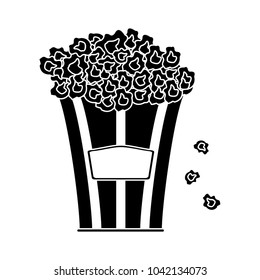 movie popcorn icon
