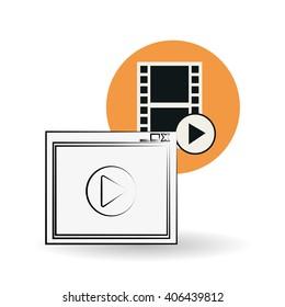 Movie  vector design