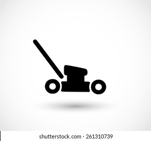 Mower icon vector