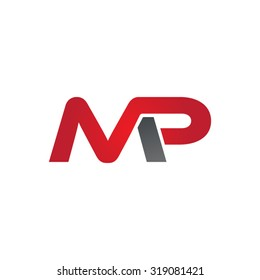 MP company group linked letter logo