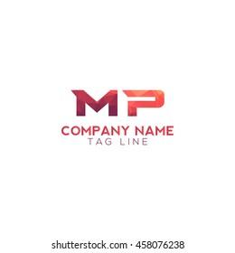 mp polygonal logo