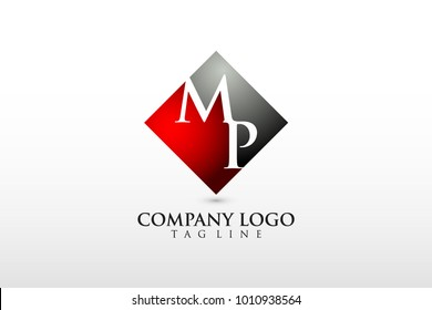 mp/pm company logo vector