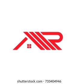 MR letter roof logo company