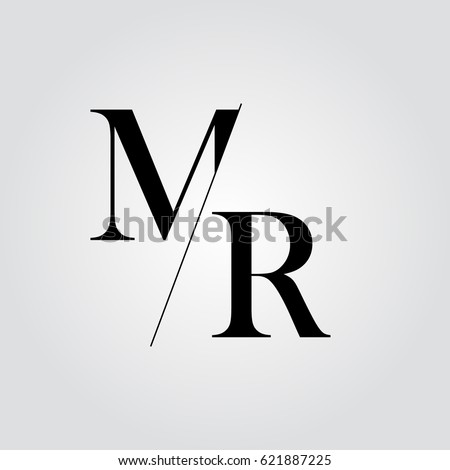 mr logo stock vector royalty free 621887225 shutterstock