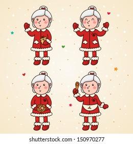 Mrs Claus, set
