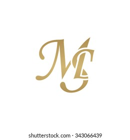 MS initial monogram logo