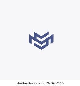 MS Letters Logo Design