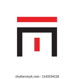 MT logo letter design