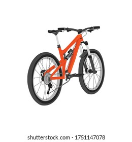 mtb bike vector design, mountain bike illustration, good for logo, template design, poster , icon, and any purpose