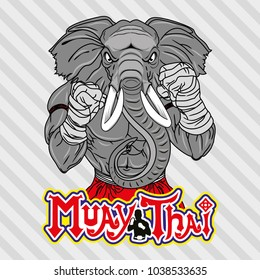 MUAY THAI ELEPHANT SACRED ANIMAL
