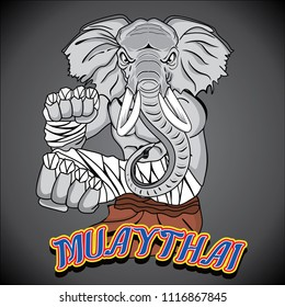 MUAY THAI ELEPHANT SACRED ANIMAL