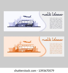 Mudik Lebaran, is an Indonesian term for the activity where migrants workers return to their hometown in Lebaran (Eid al-Fitr). Suitable for greeting card, poster and banner.