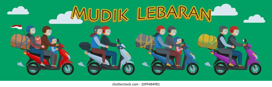 Mudik, or Pulang Kampung, is an Indonesian term for the activity where migrants workers return to their hometown in Lebaran (Eid al-Fitr)