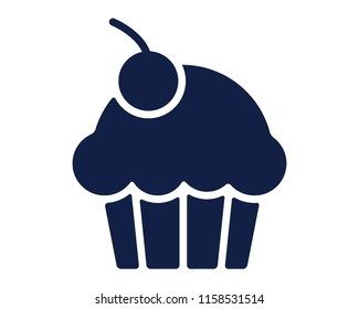 muffin glyph icon , designed for web and app