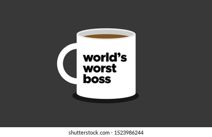 Mug Design World's WorstBoss
