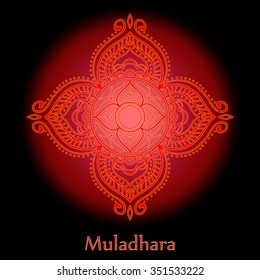 Muladhara, Root Chakra - one of the seven chakras