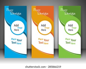 Multi Colour Flyer Design