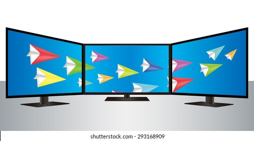 Pantalla De Plasma Images, Stock Photos & Vectors | Shutterstock