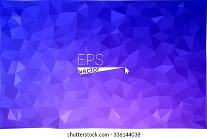 multicolor dark pink, blue geometric rumpled triangular low poly style gradient illustration graphic background. Vector polygonal design for your business.