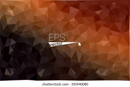 multicolor dark red geometric rumpled triangular low poly style gradient illustration graphic background. Vector polygonal design for your business.